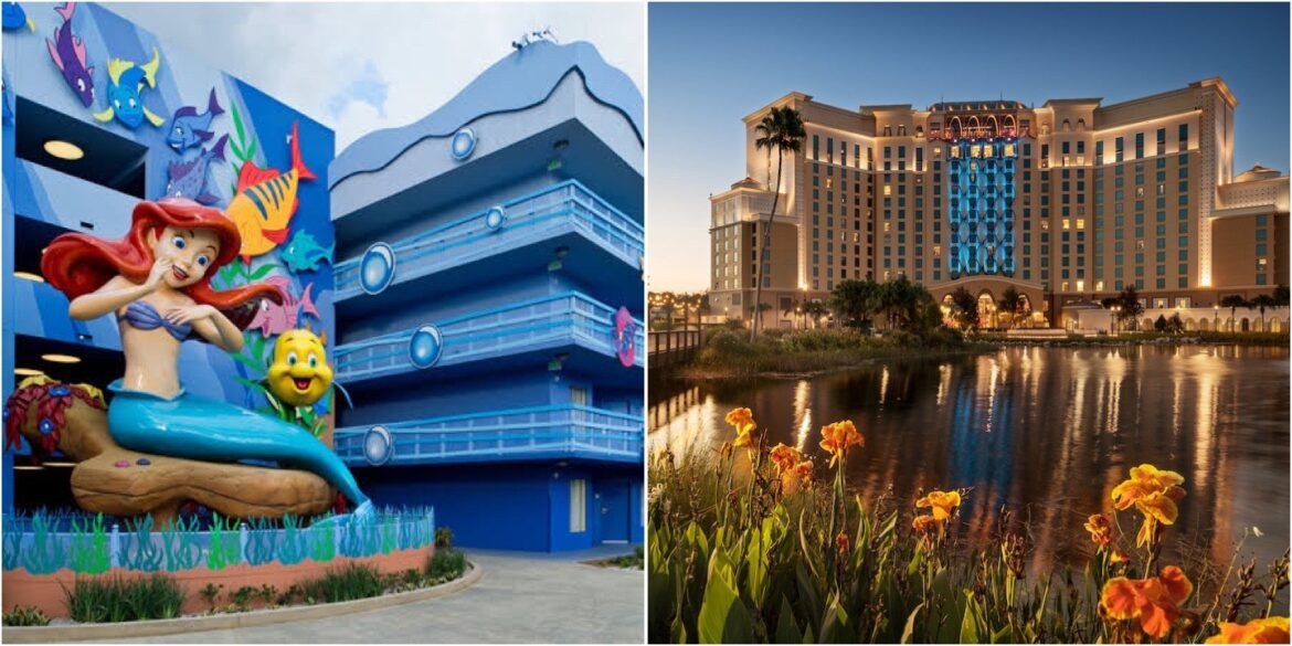 Two Disney World Hotels Are Getting Ready To Reopen!