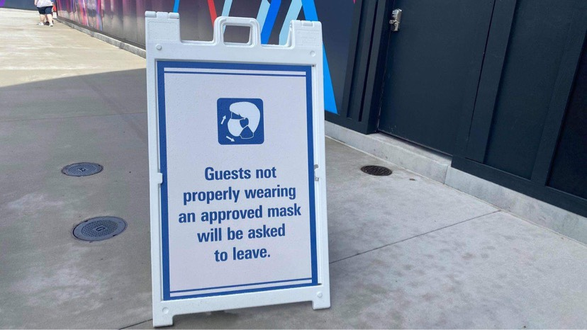 Disney World Updates Their Face Mask Policy With New Signs Around Property