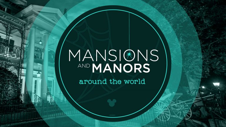 Check out Beautiful Views of Disney's Mansions & Manors Around the World