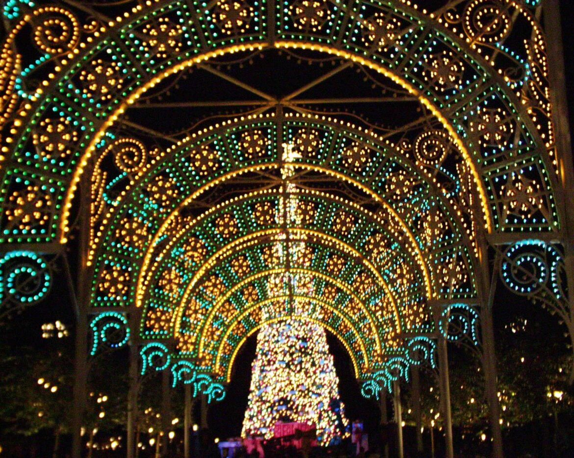 Remembering Epcot's Light of Winter Holiday Display