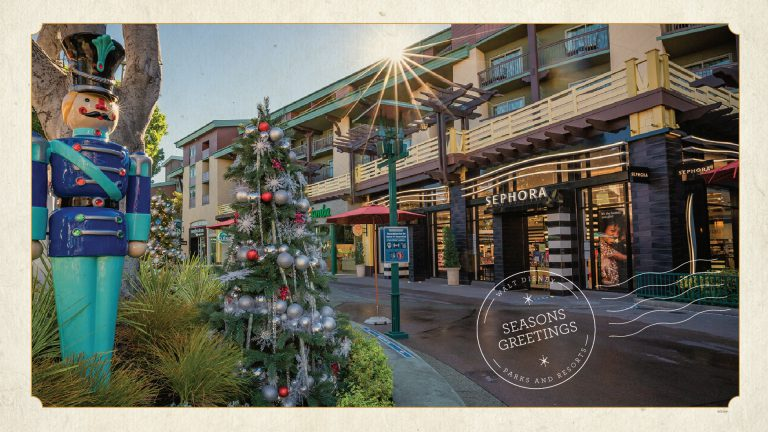 Celebrate the Holidays at the Downtown Disney District