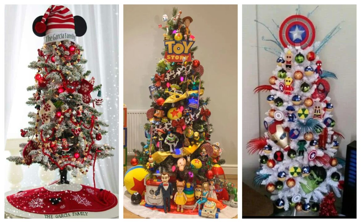 Celebrate the Holidays with a Disney Themed Christmas Tree
