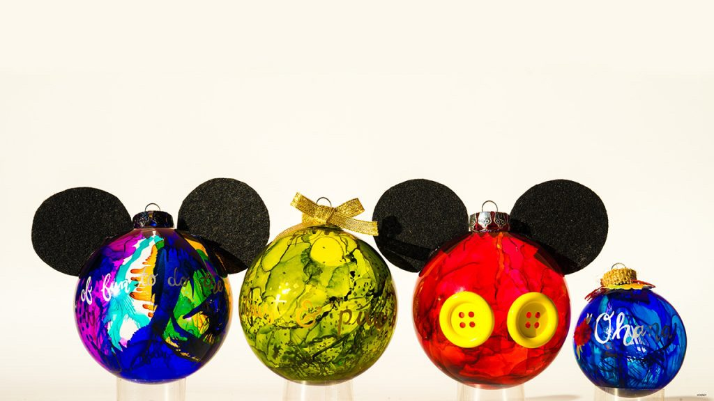 Create Disney Ornaments And Other Festive Decor This Holiday Season!