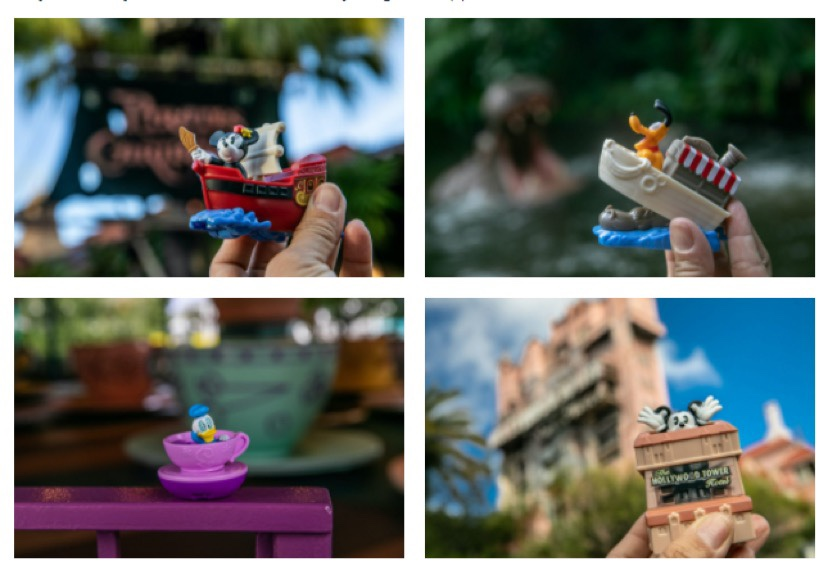 New Disney Happy Meal Toys At McDonalds!