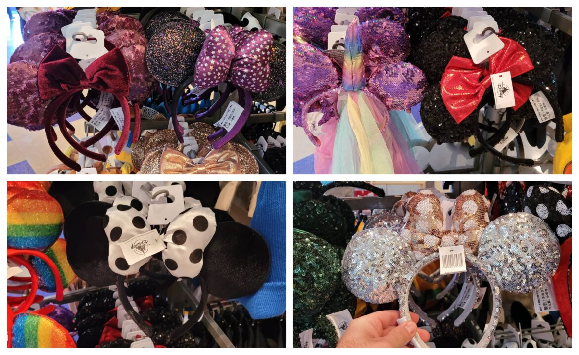 Some of our Favorite Minnie Ears at Disney World